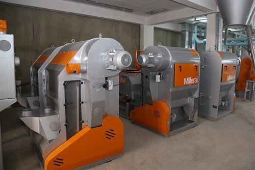 Milling plant equipment