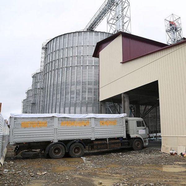 Мука с мукомольного завода в Ингушетии