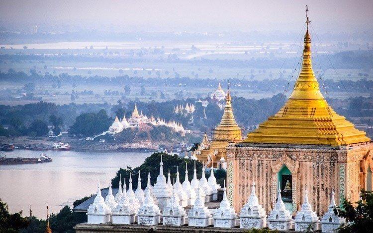 Мандалай, Бирма, пагода