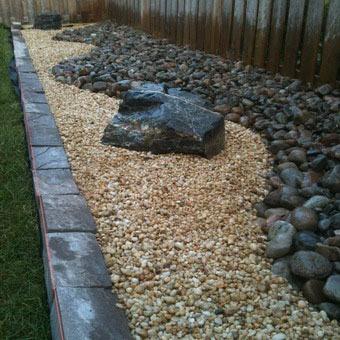Оформление сада камней