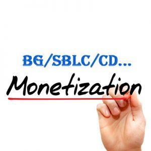 Монетизация BG, SBLC, CD