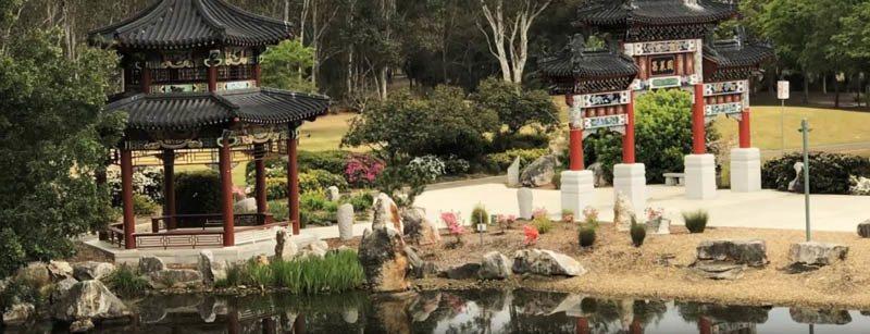 Дворец на воде в Китае