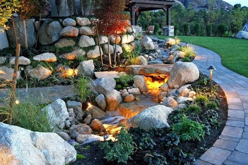 Пример композиции из камня