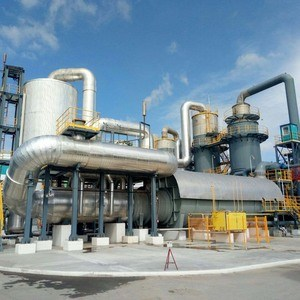 Plant for the production of sulphuric acid turnkey