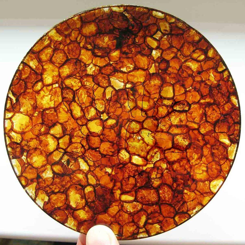 Янтарная плитка на солнце - AmberTiles