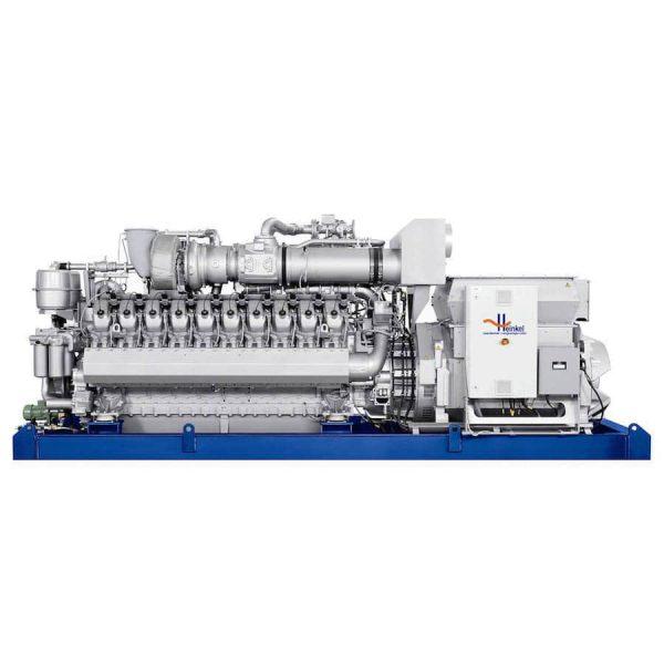 Газопоршневые генераторы с двигателем MTU 20V4000 L32, завода Rolls Royce