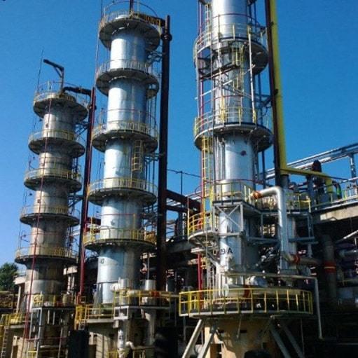 Строительство завода по производству метанола