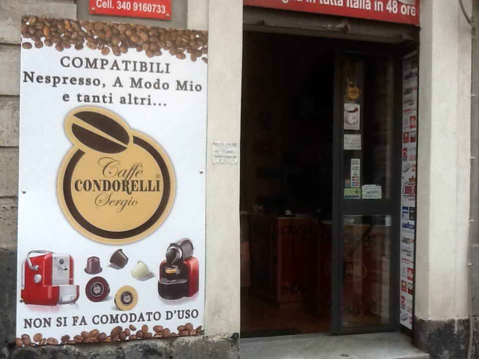 Один из магазинов Condorelli в Италии